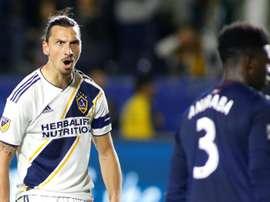 Zlatan apparently wants to go to Boca Juniors. AFP
