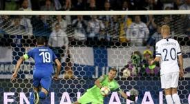 Gli azzurri fanno l'en plein di vittorie. AFP
