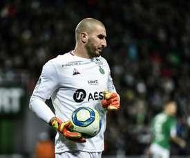 Ligue 1: Ruffier, légende des Verts face à l'ogre parisien. AFP