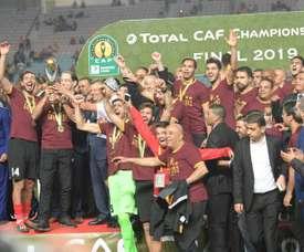 Tunis sacré au bout de la procédure en Ligue des champions africaine. AFP