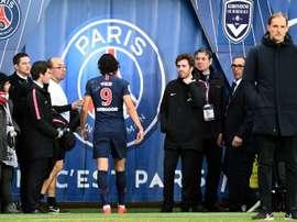 Cavani recusa Manchester United. AFP