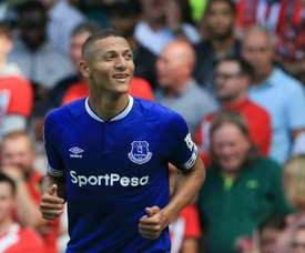 Richarlison fica no Everton. AFP