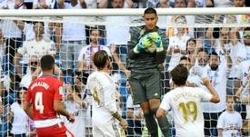 El Madrid y Mino Raiola hablaron de jugadores. AFP