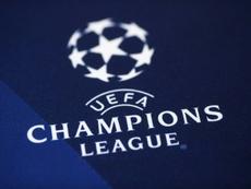 Logo de la Ligue des champions. AFP