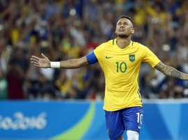 Le Brésil veut de nouveau Neymar pour les JO. AFP