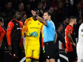 Les compos probables du match d'Europa League entre Cluj et Rennes. AFP