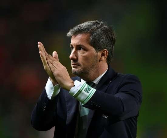 L'ex-président du Sporting, Bruno de Carvalho, à Lisbonne. AFP