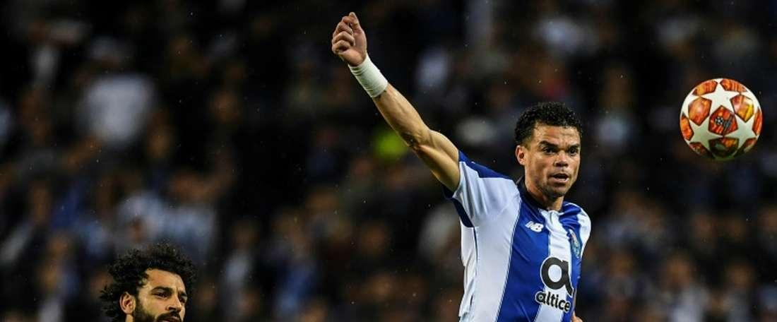 Pepe a dû intervenir entre un de ses coéquipier de Porto et Jesé. afp