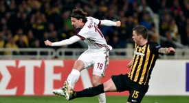 Montolivo desapareció de las alineaciones del Milan. AFP