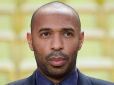 Thierry Henry le nouvel entraineur de Monaco. AFP