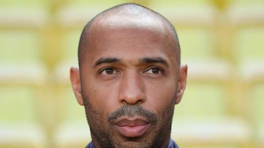 Henry took over from Leonardo Jardim as Monaco manager. AFP