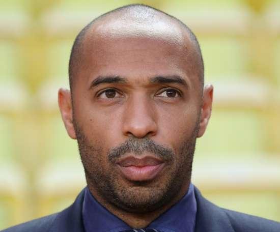 Henry took over from Leonardo Jardim as Monaco manager. AFP