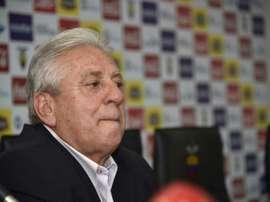 Lex-président de la fédération équatorienne de football, Luis Chiriboga. AFP