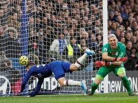Guaita aparece como opção para o Chelsea. AFP