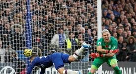 En el Chelsea quieren a Guaita compitiendo por el puesto con Kepa. AFP