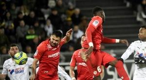 Les compos probables du match de Ligue 1 entre Montpellier et Dijon. AFP