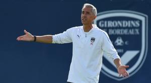 Sousa revient sur la victoire. AFP