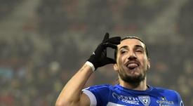 Enzo Crivelli recalará en el Caen esta temporada. AFP
