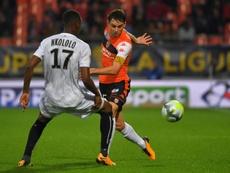 Ligue 2: Lorient préserve le nul au Havre et augmente son avance en tête. AFP