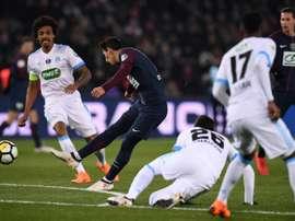 La Ligue 1 anunció este viernes el acuerdo. AFP