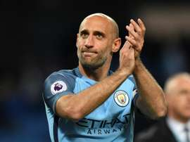 Pablo Zabaleta joined West Ham on a free transfer from Manchester City. AFP