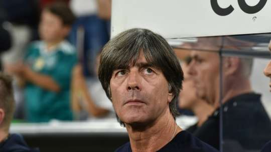 Löw won the 2014 Brazil World Cup with Germany. AFP