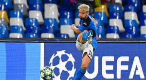 Barca considered signing Dries Mertens. AFP