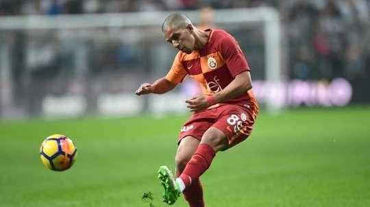 Feghouli comentou a ausência de CR7 no Real. AFP