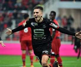 Adrien Hunou va prolonger avec Rennes. AFP