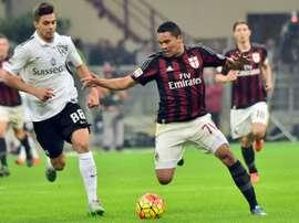 Grassi saldrá nuevamente cedido del Nápoles. AFP