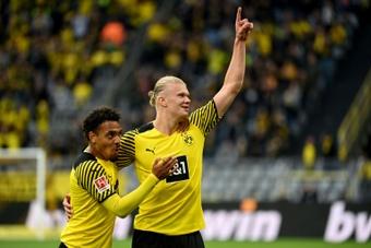 Dortmund lorgne en Ligue 1 pour le remplaçant d'Haaland. AFP