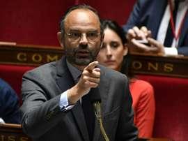 Le Premier ministre Edouard Philippe. AFP