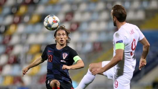 Modric was complimentary of England after the game. AFP