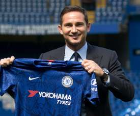 Frank Lampard, à Stamford Bridge à Londres. AFP