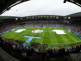 Saint-Etienne candidate pour la finale. AFP