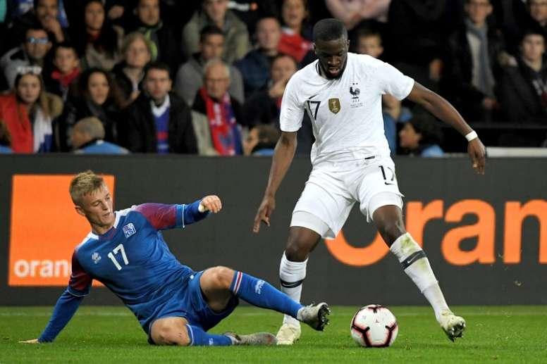 Madrid make a step forward for Ndombele. AFP