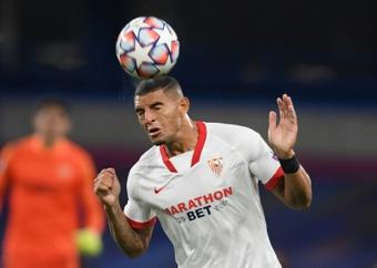 Diego Carlos contó cómo se encuentra tras el inicio de temporada. AFP