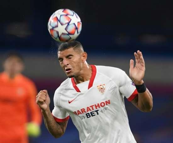 Diego Carlos is of interest to Juventus. AFP