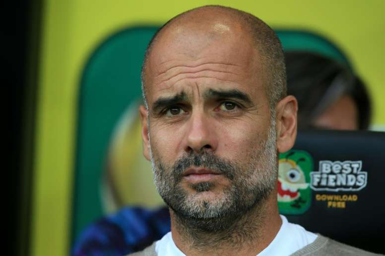 Pep is in no rush to renew. AFP