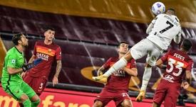 Cristiano Ronaldo permet à la Juve d'éviter le pire. AFP