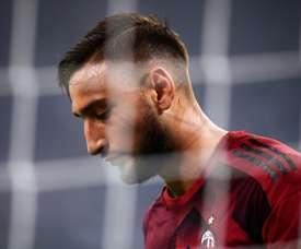 El Milan va de mal en peor. AFP