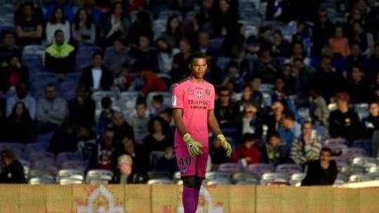 Lafont aurait tapé dans l'œil du Barça. AFP