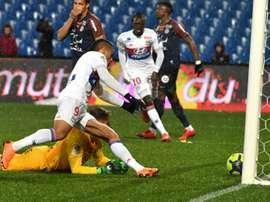 Lyon empata fora. AFP