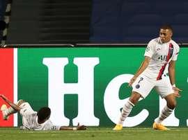 El PSG va a semifinales de Champions a costa del Atalanta. AFP
