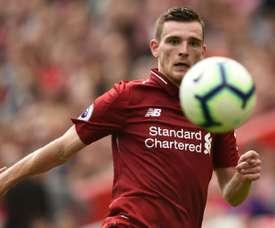 Robertson est le nouveau capitaine de l'Écosse. AFP