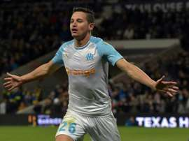 Florian Thauvin has been wanted by Sevilla. AFP/Archivo