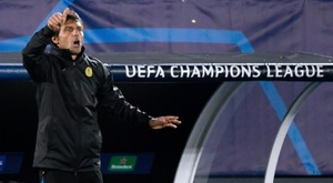 Inter Milan-Real Madrid, une finale pour Conte. afp