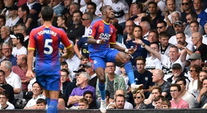 Zaha wants more protection from the referees. AFP