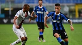 L'Inter espère prolonger Lautaro Martinez. AFP