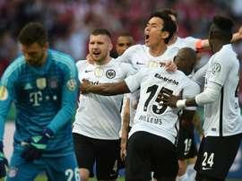 Le Bayern battu en finale. AFP